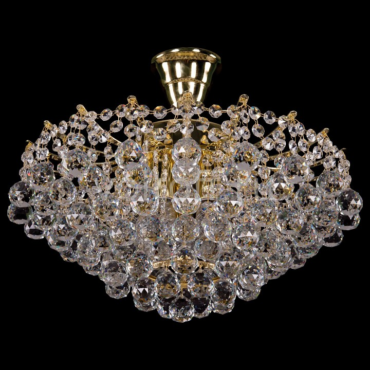 Люстра на штанге Bohemia Ivele CrystalЭлитные светильники<br>Артикул - BI_7331_42_G,Серия - 7331<br>