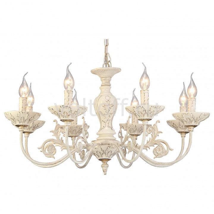 Подвесная люстра Arte LampКлассические потолочные светильники<br>Артикул - AR_A5326LM-8WG,Серия - Faina<br>