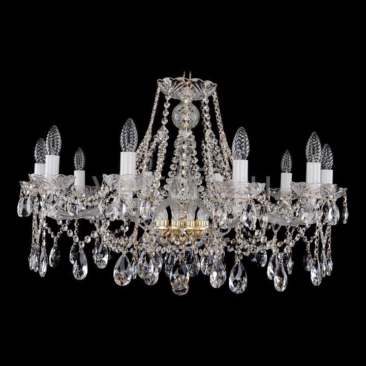 Подвесная люстра Bohemia Ivele CrystalЭлитные светильники<br>Артикул - BI_1413_10_300,Серия - 1413<br>