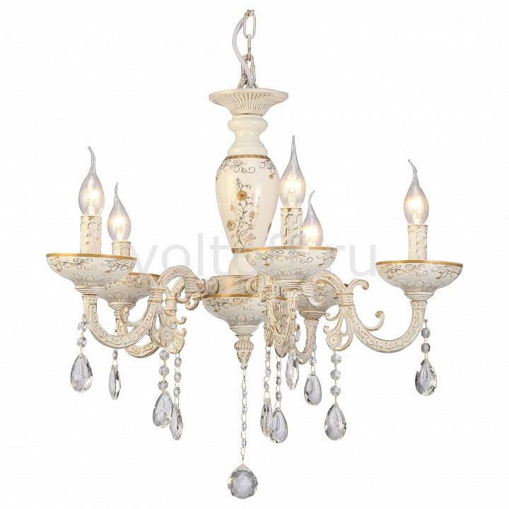 Подвесная люстра Arte LampЭлитные светильники<br>Артикул - AR_A5335LM-5WG,Серия - Dubai<br>