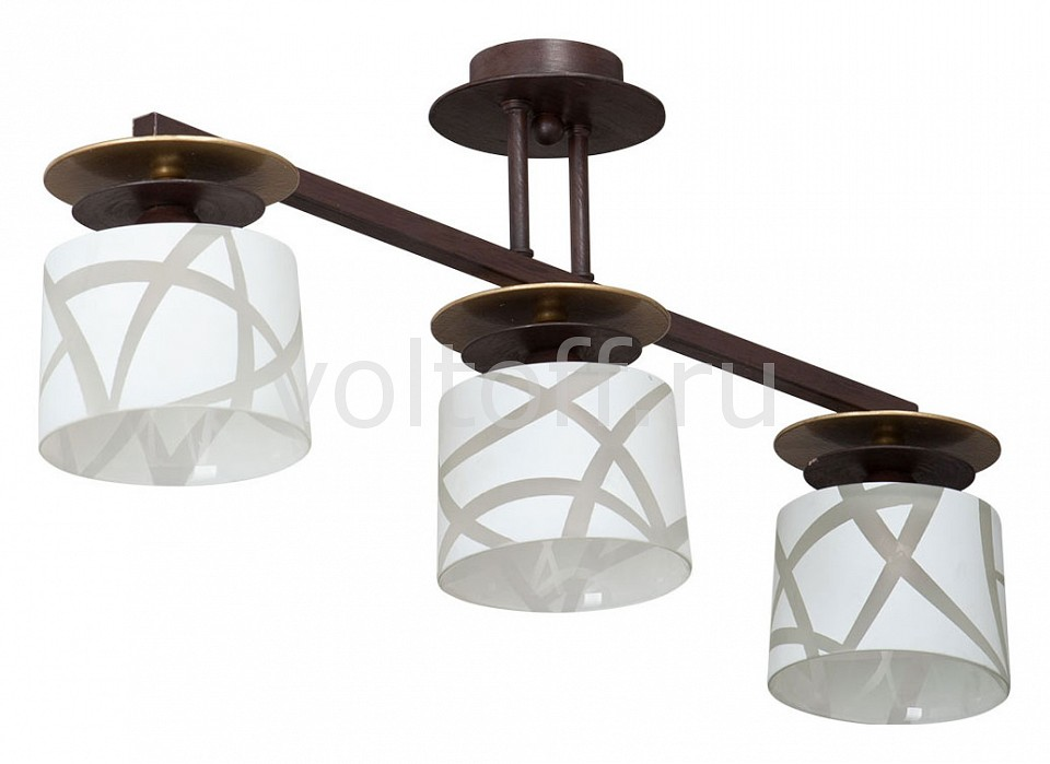 Люстра на штанге VitaluceПотолочные светильники модерн<br>Артикул - VI_V4233_3PL,Серия - V4233<br>