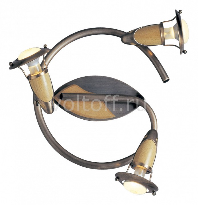 Спот GloboС тремя лампами<br>Артикул - GB_5436-3,Серия - Lord<br>