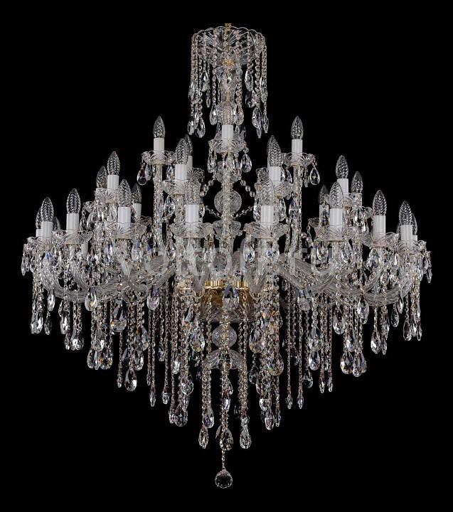 Подвесная люстра Bohemia Ivele CrystalЭлитные светильники<br>Артикул - BI_1415_20_10_5_400_G,Серия - 1415<br>