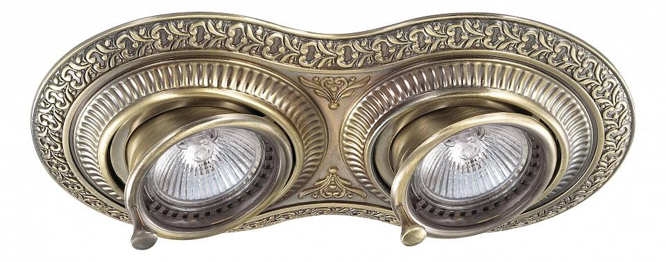 Встраиваемый светильник NovotechСветильники под бронзу<br>Артикул - NV_370012,Серия - Vintage<br>