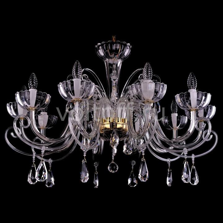 Подвесная люстра Bohemia Ivele CrystalЭлитные светильники<br>Артикул - BI_1333_10_380_G,Серия - 1333<br>