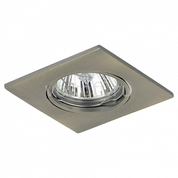 Встраиваемый светильник LightstarСветильники под бронзу<br>Артикул - LS_011938,Серия - Lega16<br>