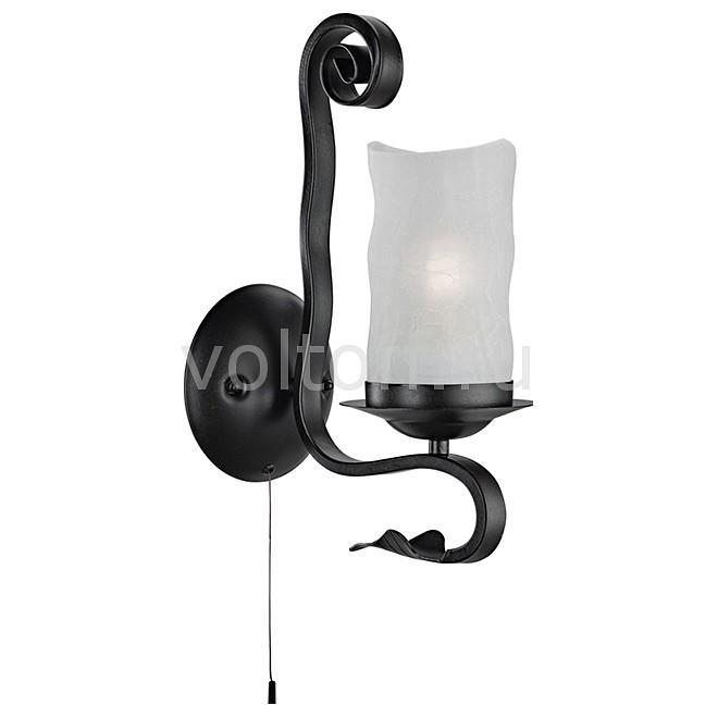 Бра Arte LampБра в стиле модерн<br>Артикул - AR_A7915AP-1BK,Серия - Scroll<br>