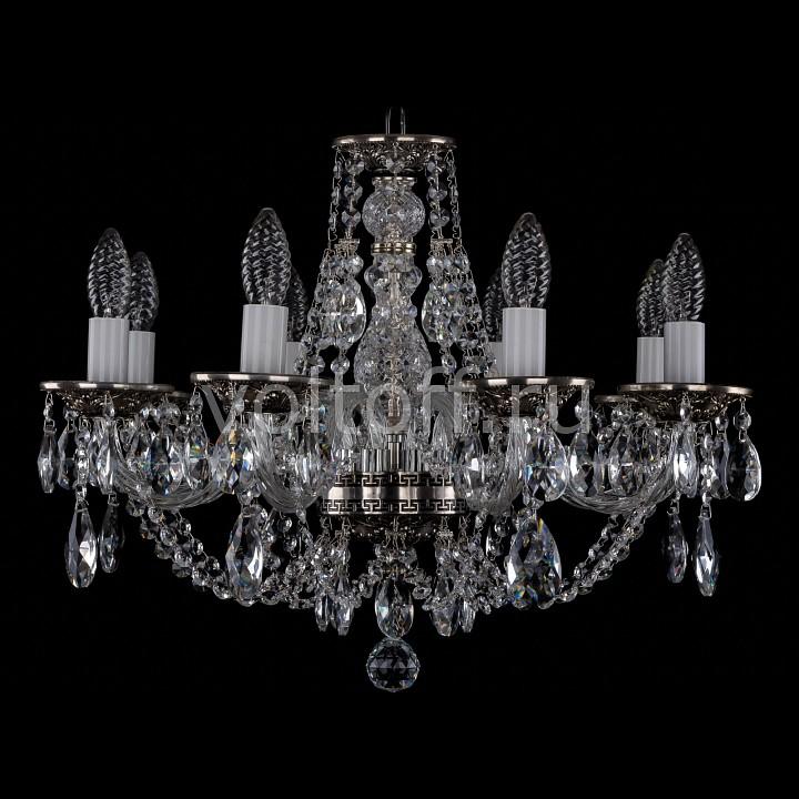 Подвесная люстра Bohemia Ivele CrystalЭлитные светильники<br>Артикул - BI_1606_8_195_NB,Серия - 1606<br>