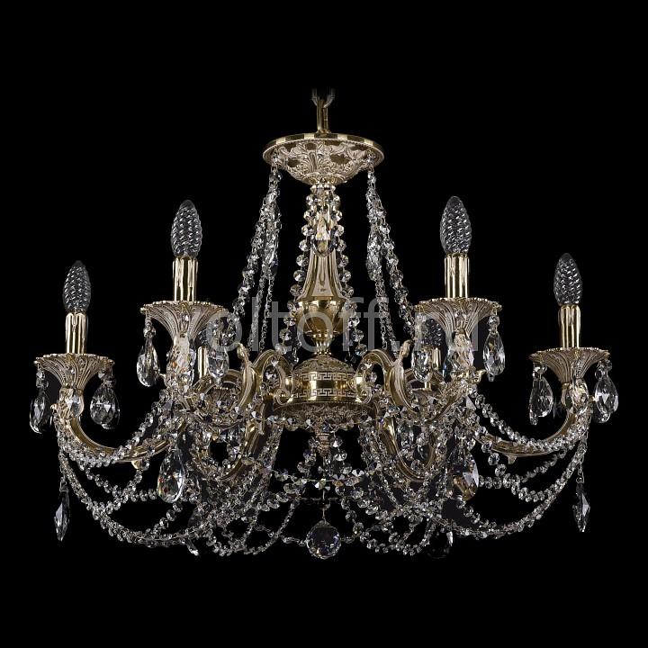 Подвесная люстра Bohemia Ivele CrystalЭлитные светильники<br>Артикул - BI_1702_6_C_GI,Серия - 1702<br>
