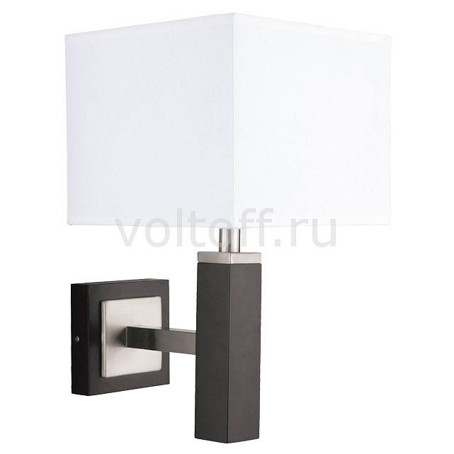 Бра Arte LampБра в стиле модерн<br>Артикул - AR_A8880AP-1BK,Серия - Waverley<br>