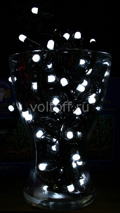 Гирлянда Нить Мастерская Деда Мороза (10 м) PVCIP64-10M-100PC-6W-W