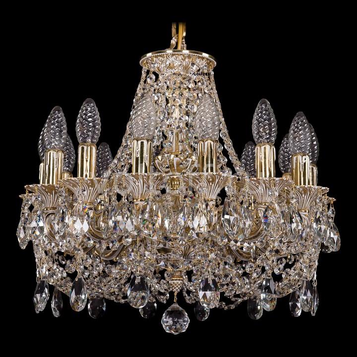 Подвесная люстра Bohemia Ivele CrystalЭлитные светильники<br>Артикул - BI_1707_14_125_C_GW,Серия - 1707<br>