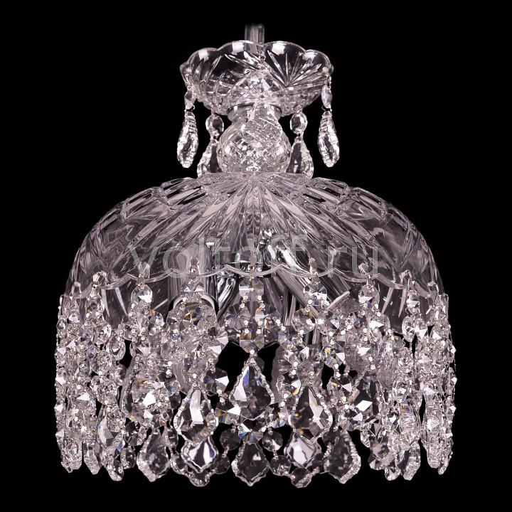 Подвесной светильник Bohemia Ivele CrystalЭлитные светильники<br>Артикул - BI_7711_25_Ni_Leafs,Серия - 7711<br>