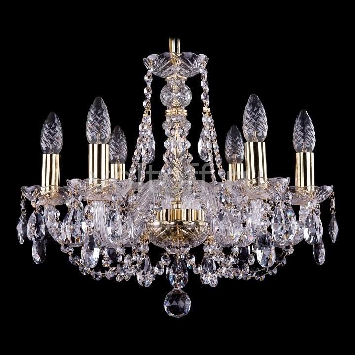 Подвесная люстра Bohemia Ivele CrystalЭлитные светильники<br>Артикул - BI_1406_6_160,Серия - 1406<br>