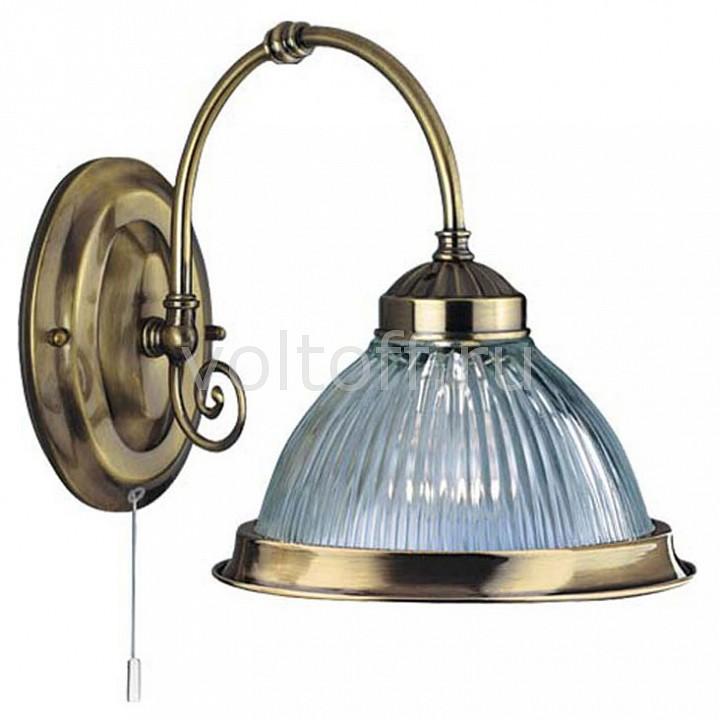 Бра Arte LampСветильники под бронзу<br>Артикул - AR_A9366AP-1AB,Серия - American Diner<br>
