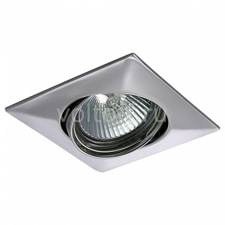 Встраиваемый светильник LightstarМеталлические светильники<br>Артикул - LS_011034,Серия - Lega Qua<br>