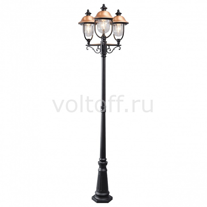 Фонарный столб MW-LightКлассические светильники<br>Артикул - MW_805040702,Серия - Дубай<br>