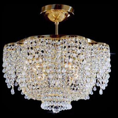 Люстра на штанге PreciosaЭлитные светильники<br>Артикул - PR_55091400407000035,Серия - Brilliant<br>