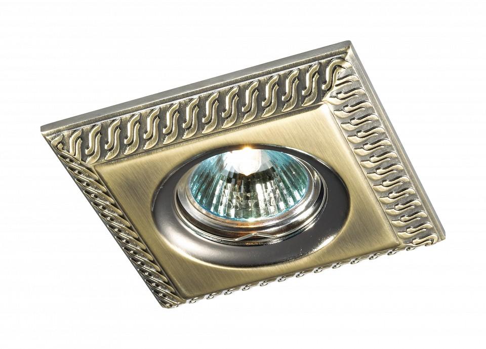 Встраиваемый светильник NovotechСветильники под бронзу<br>Артикул - NV_369655,Серия - Wind<br>