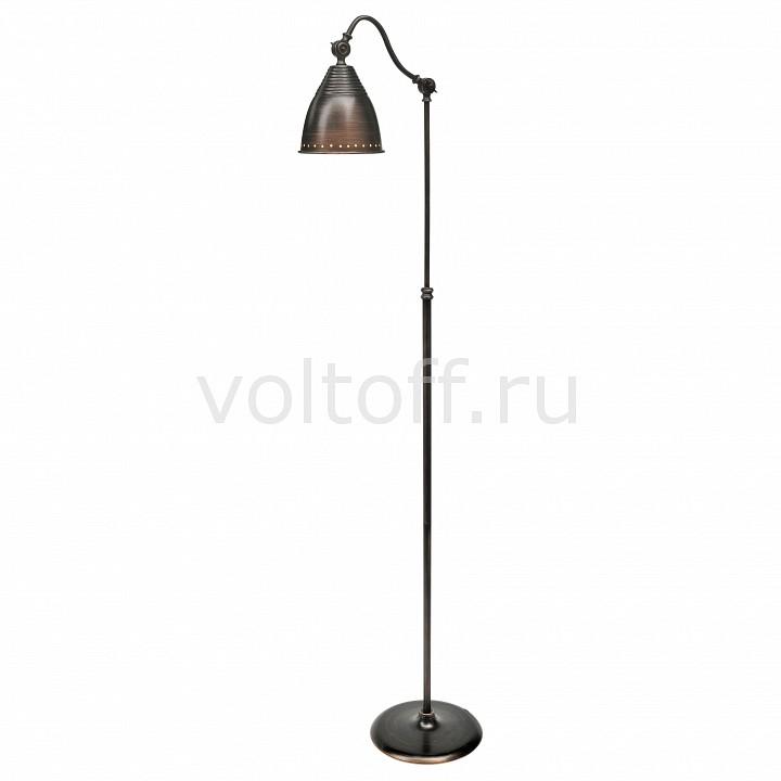 Торшер Arte LampМеталлические светильники<br>Артикул - AR_A1508PN-1BR,Серия - Trendy<br>