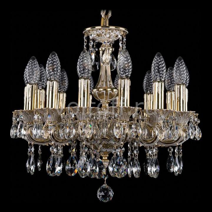 Подвесная люстра Bohemia Ivele CrystalЭлитные светильники<br>Артикул - BI_1707_14_125_A_GW,Серия - 1707<br>