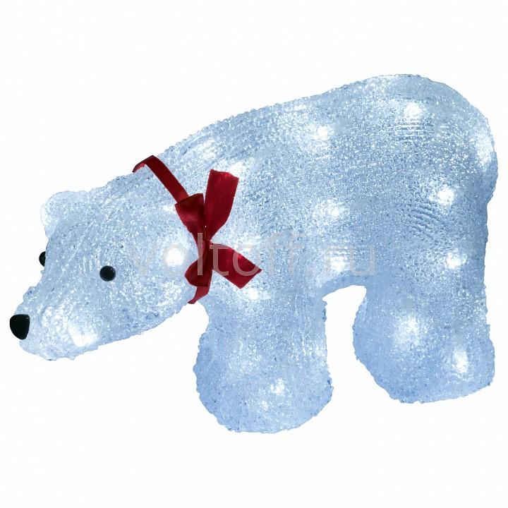 Белый медведведь световой (23 см) Uniel