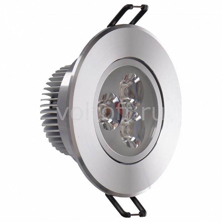 Встраиваемый светильник MW-LightСветодиодные встраиваемые светильники<br>Артикул - MW_637012703,Серия - Круз<br>