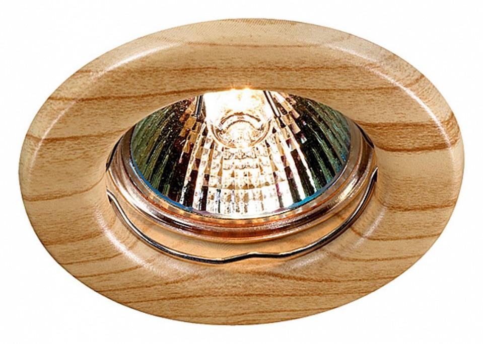 Встраиваемый светильник NovotechПотолочные светильники модерн<br>Артикул - NV_369713,Серия - Wood<br>