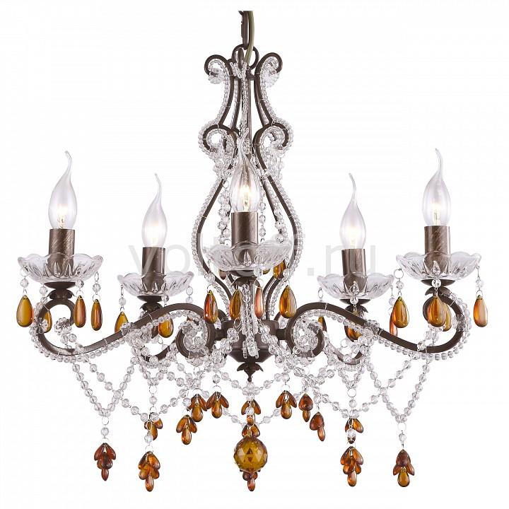 Подвесная люстра Arte LampЭлитные светильники<br>Артикул - AR_A1715LM-5BR,Серия - Decorato<br>
