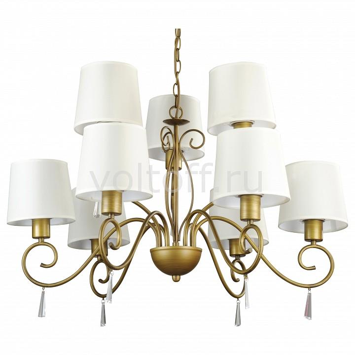 Подвесная люстра Arte LampКлассические потолочные светильники<br>Артикул - AR_A9239LM-6-3BR,Серия - Carolina<br>