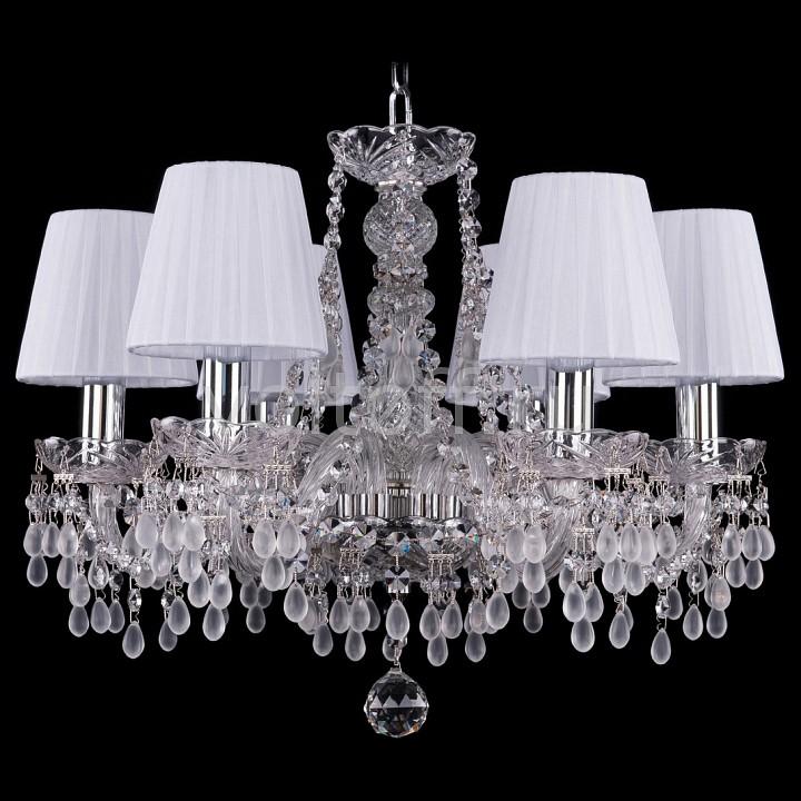 Подвесная люстра Bohemia Ivele Crystal 1410/6/160/Ni/V0300/SH2
