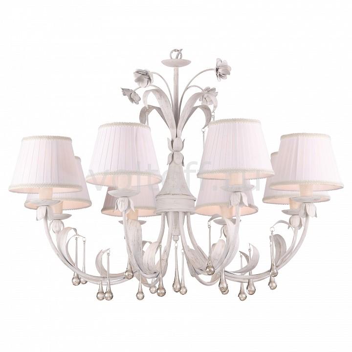 Подвесная люстра Arte LampЭлитные светильники<br>Артикул - AR_A8100LM-8WG,Серия - Borgia<br>