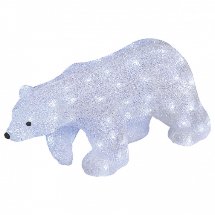 Белый медведведь световой (29 см) Uniel