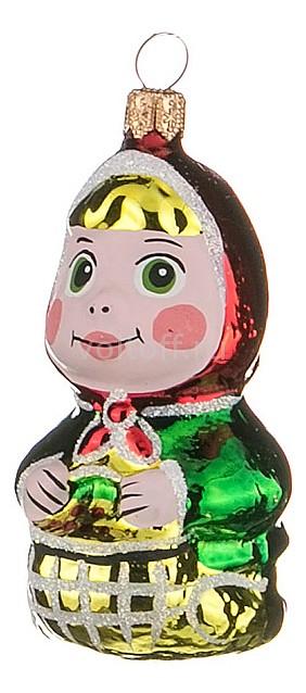 Елочная игрушка АРТИ-М (7 см) Машенька 860-347