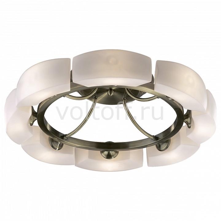 Потолочная люстра Odeon LightСветильники под бронзу<br>Артикул - OD_1713_8C,Серия - Barca<br>