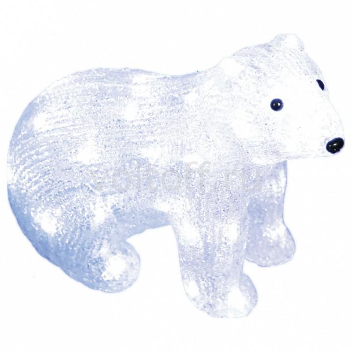 Белый медведведь световой (25 см) Uniel