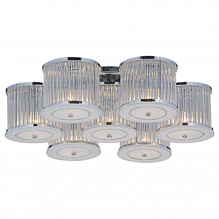 Потолочная люстра Arte LampЭлитные светильники<br>Артикул - AR_A8240PL-7CC,Серия - Glassy<br>