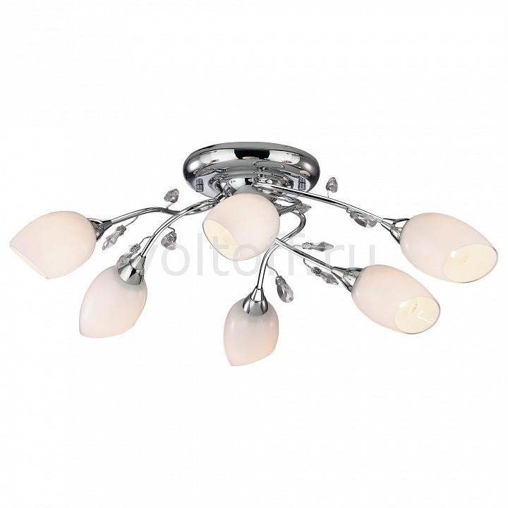 Потолочная люстра Odeon LightЭлитные светильники<br>Артикул - OD_1603_6,Серия - Fiera<br>