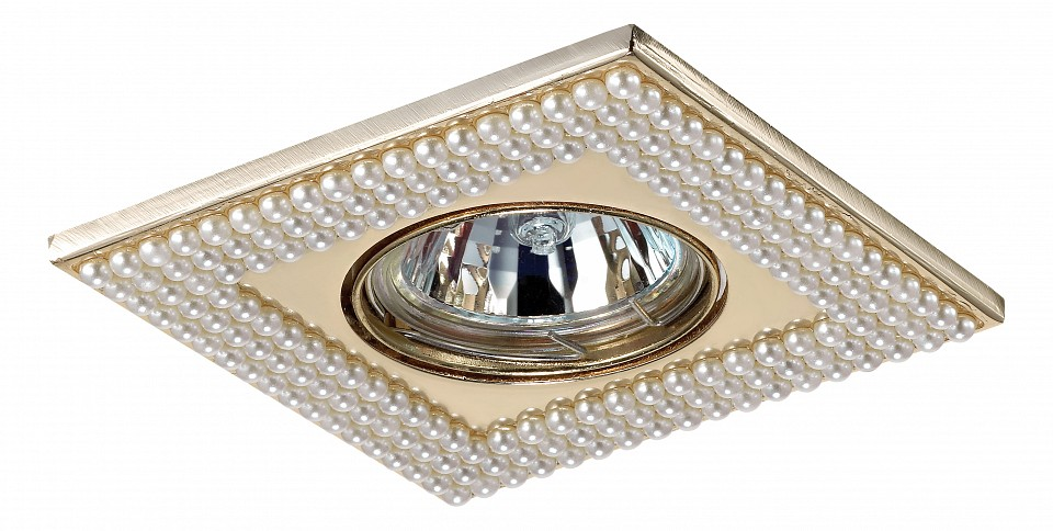 Встраиваемый светильник NovotechПотолочные светильники модерн<br>Артикул - NV_370145,Серия - Pearl<br>