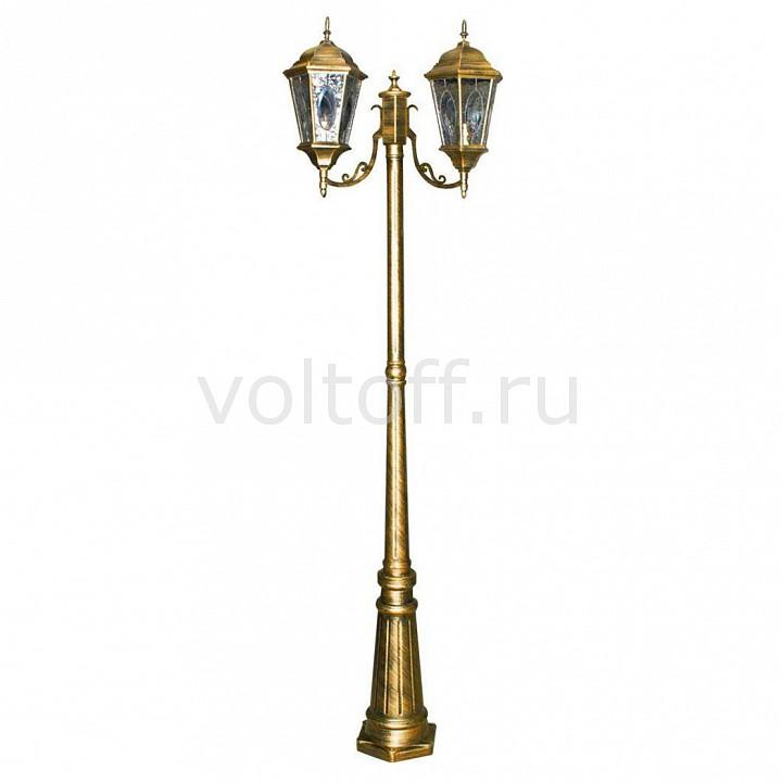 Фонарный столб Feron Витраж с овалом 11325