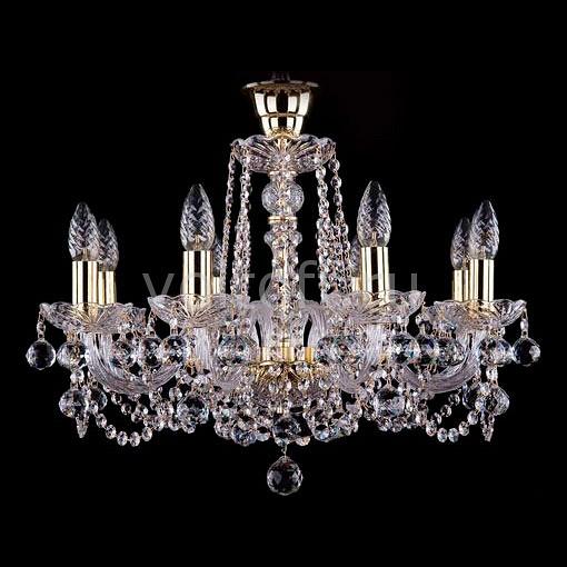Подвесная люстра Bohemia Ivele CrystalЭлитные светильники<br>Артикул - BI_1402_8_195_B,Серия - 1402<br>