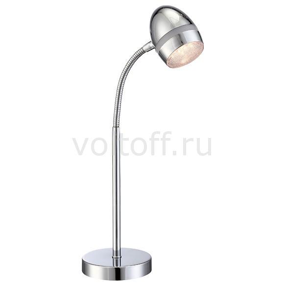 Настольная лампа GloboСветильники для общественных помещений<br>Артикул - GB_56206-1T,Серия - Manjola<br>