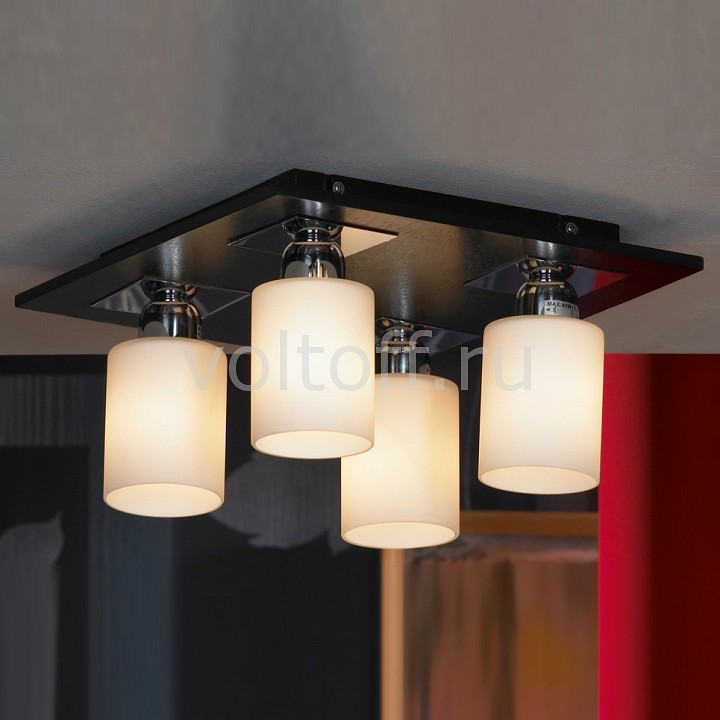 Накладной светильник LussoleПотолочные светильники модерн<br>Артикул - LSF-6107-04,Серия - Caprile<br>