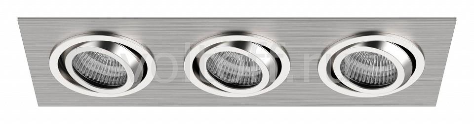 Встраиваемый светильник LightstarМеталлические светильники<br>Артикул - LS_011603,Серия - Singo<br>