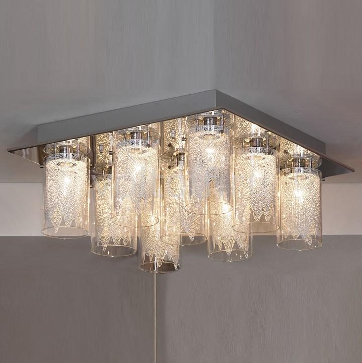 Накладной светильник LussoleПотолочные светильники модерн<br>Артикул - LSA-4707-09,Серия - Biosvet<br>