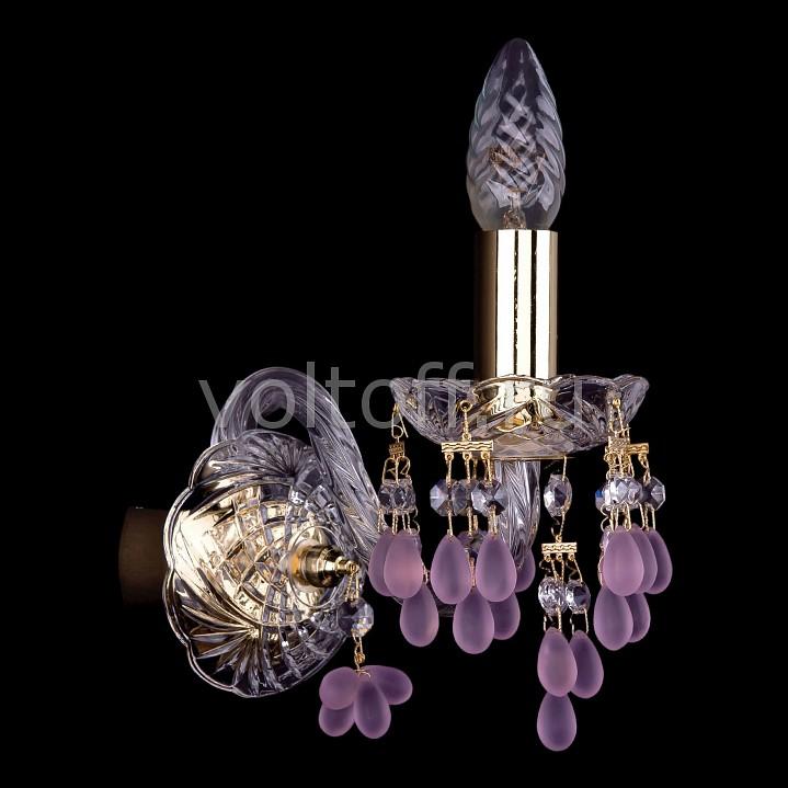 Бра Bohemia Ivele CrystalЭлитные светильники<br>Артикул - BI_1410_1_G_7010,Серия - 1410<br>