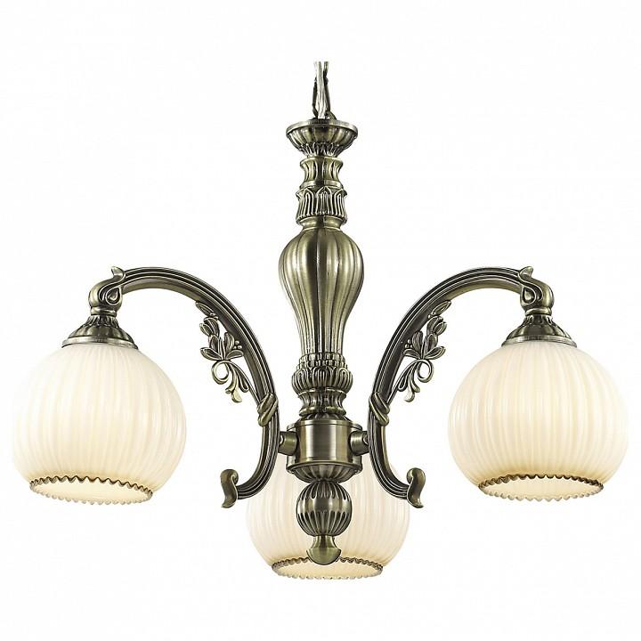 Подвесная люстра Odeon LightСветильники под бронзу<br>Артикул - OD_2867_3,Серия - Ragon<br>
