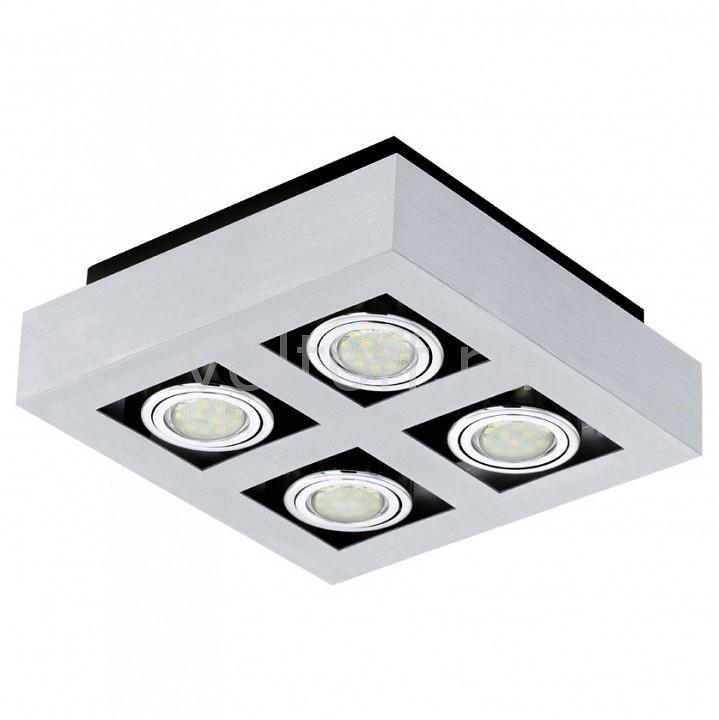 Накладной светильник EgloСветильники для общественных помещений<br>Артикул - EG_91355,Серия - Loke 1<br>