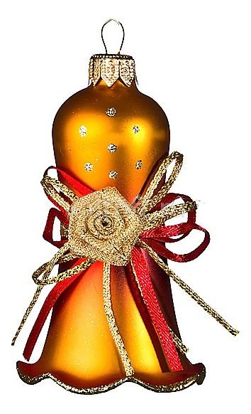 Елочная игрушка АРТИ-М (10 см) Колокольчик декоративный 860-086