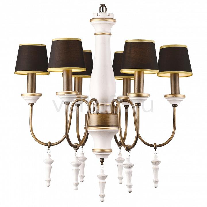 Подвесная люстра Arte LampМеталлические светильники<br>Артикул - AR_A1843LM-6BG,Серия - Fortezza<br>